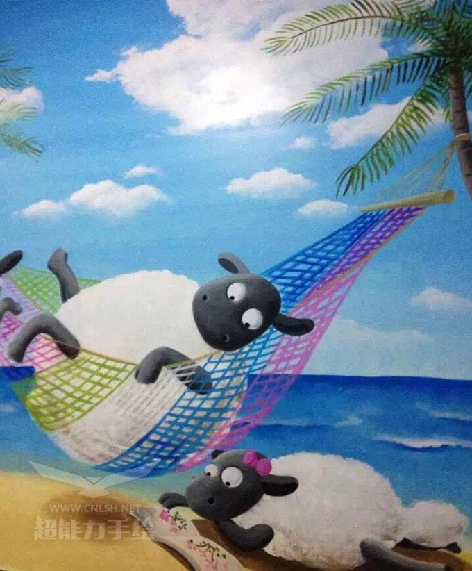 【郑州彩绘公司】儿童房墙绘色调和图案的搭配非常重要